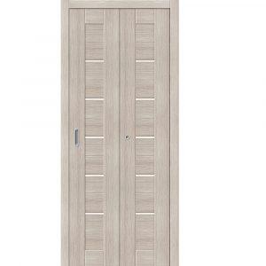 Складная дверь-книжка Порта-21 Bianco Veralinga