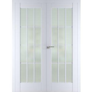 Двойная распашная дверь 102U (Аляска)