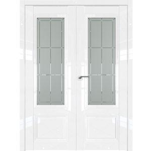 Распашная дверь 2.103L Белый Люкс