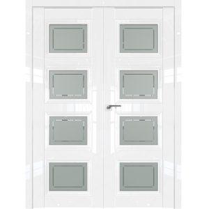 Двойная двустворчатая дверь 2.107L (Белый Люкс)