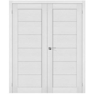 Двойная распашная дверь Легно-21 Virgin