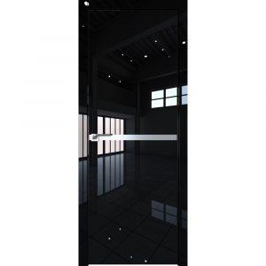Дверь межкомнатная 11LK Черный Люкс