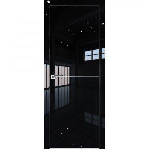 Дверь межкомнатная 12LK Черный Люкс