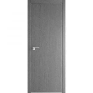 Дверь межкомнатная 1ZN Грувд Серый