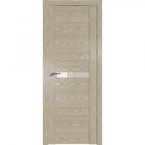 Дверь межкомнатная 2.01N Дуб SKY Крем