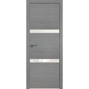 Дверь межкомнатная 30ZN Грувд Серый