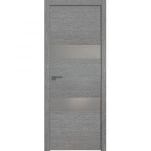 Дверь межкомнатная 34ZN Грувд Серый