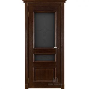 Дверь межкомнатная Афродита Античный орех Глухая