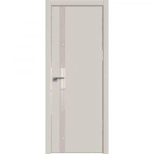 Дверь межкомнатная 6E Магнолия Сатинат