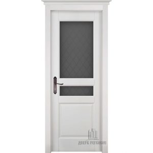 Дверь межкомнатная Гармония Античный орех Остекленная