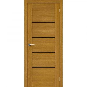 Дверь межкомнатная Вуд Модерн-22 Natur Oak/Black Star