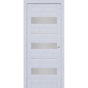 Дверь межкомнатная 226 Серый шелк (Ral 7047) остекленная