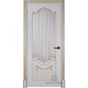 Дверь межкомнатная Александрия 2 Эмаль Слоновая кость