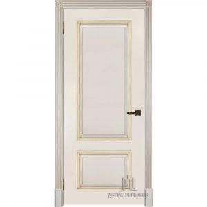 Дверь межкомнатная Британия Эмаль Слоновая кост