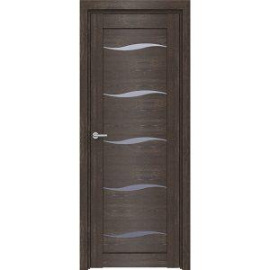 Дверь межкомнатная D1 Дуб Шале Корица