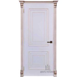 Дверь межкомнатная Итало Багет 30 Эмаль Белая
