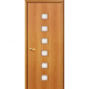 Дверь межкомнатная 1С Л-12 (МиланОрех)