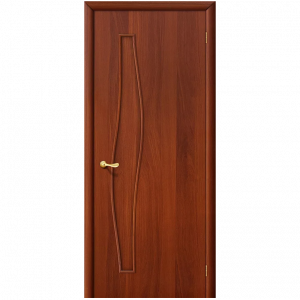 Дверь межкомнатная 6Г Л-11 (ИталОрех)