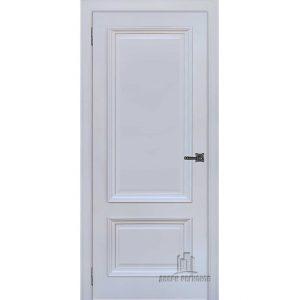Дверь межкомнатная Неаполь 1 Серый шелк (Ral 7047) Глухая