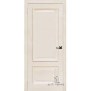 Дверь межкомнатная Неаполь 1 Слоновая кость (Ral 9001) Глухая