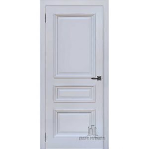 Дверь межкомнатная Неаполь 2 Серый шелк (Ral 7047) Глухая
