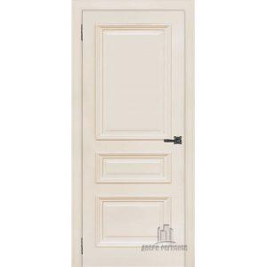 Дверь межкомнатная Неаполь 2 Слоновая кость (Ral 9001) Глухая