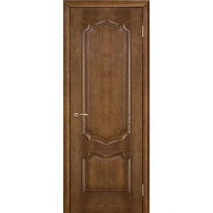 Дверь межкомнатная Премьера Каштан Глухая