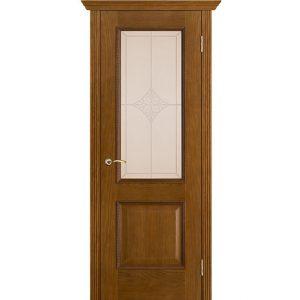 Дверь межкомнатная Шервуд Ромб Античный дуб