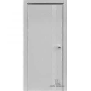 Дверь межкомнатная Uno Chiaro (Ral 9003) Остекленная