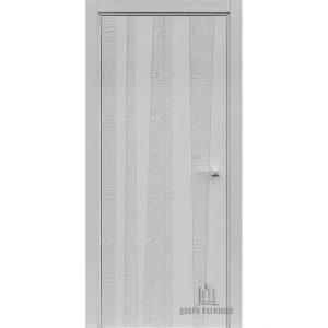 Дверь межкомнатная Trend Chiaro Patina Argento (Ral 9003) Глухая
