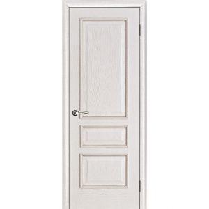 Дверь межкомнатная Вена Белая патина Глухая
