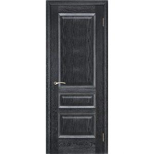 Дверь межкомнатная Вена Черная Патина