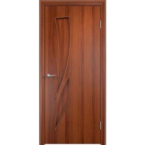 Дверь межкомнатная Тип С-02 Итальянский Орех Глухая