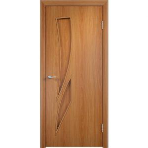 Дверь межкомнатная Тип С-02 Миланский Орех Глухая