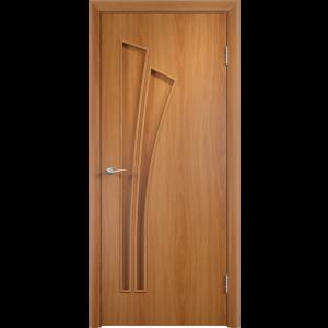 Дверь межкомнатная Тип С-07 Итальянский Орех Глухая