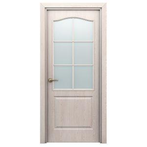 Дверь межкомнатная Премиум Классик Дуб Паллада со стеклом