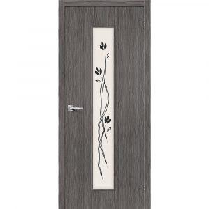 Дверь межкомнатная Тренд-14 3D Grey