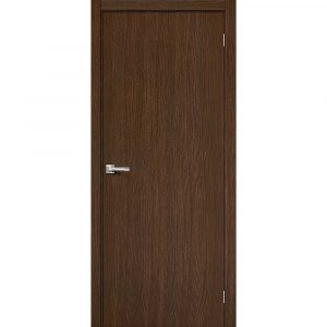 Дверь межкомнатная Вуд Флэт-0V1 Golden Oak V