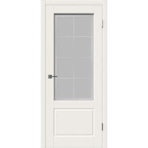 Дверь межкомнатная Sheffield Ivory Print Cloud