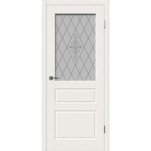 Дверь межкомнатная Chester Ivory White Art