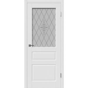 Дверь межкомнатная Chester Polar White Art