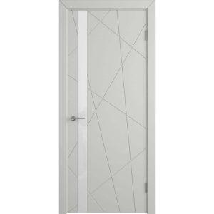 Дверь межкомнатная Flitta Cotton White Gloss