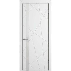 Дверь межкомнатная Flitta Polar White Gloss