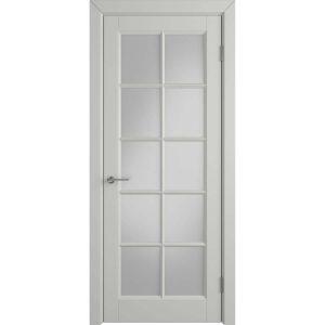 Дверь межкомнатная Glanta Cotton White Cloud