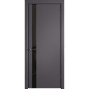 Дверь межкомнатная Niuta Ett Graphite Black Gloss