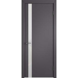 Дверь межкомнатная Niuta Ett Graphite White Gloss