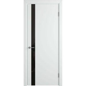 Дверь межкомнатная Niuta Ett Polar Black Gloss