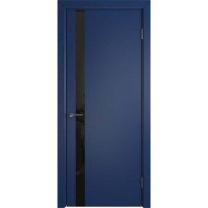 Дверь межкомнатная Niuta Ett Royal Navy Black Gloss