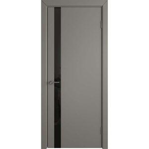 Дверь межкомнатная Niuta Ett Stone Black Gloss