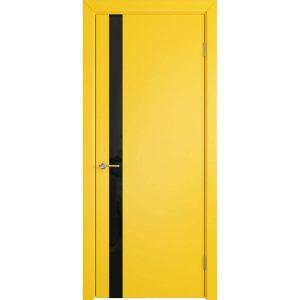 Дверь межкомнатная Niuta Ett Sun Beam Black Gloss